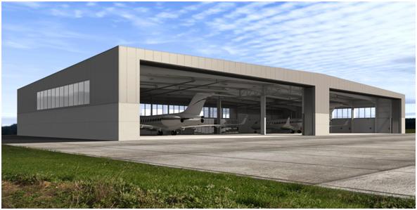 Diseño de hangares